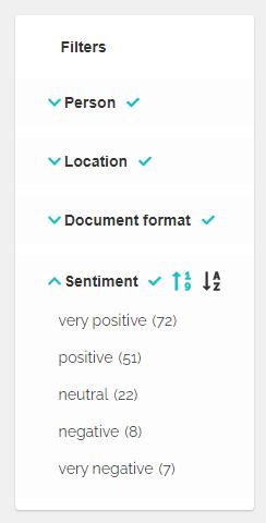 Sentiment analysis, Precognox